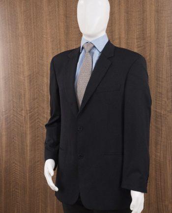 e8f50d08 HUGO BOSS Size 38R Galilei / Sigma US 2 Button Sportcoat Blazer Solid BLACK