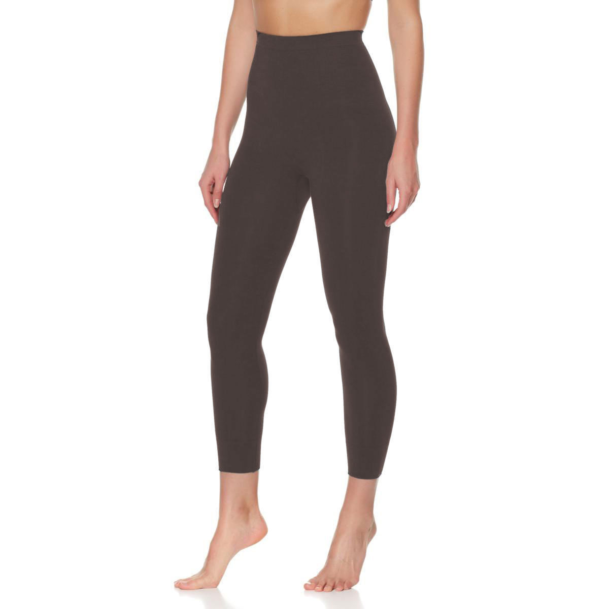 c8213900f2f93b Sale! Home / Leggings / RHONDA SHEAR Size 2XL High-Waist Cotton-Blend  Shaping Leggings CHARCOAL